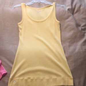 Yellow Lilly Pulitzer tank